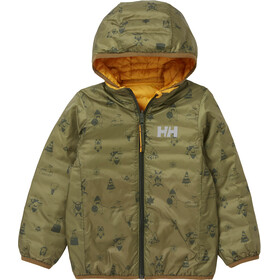 Helly Hansen Storm Reversible Insulator Jacket Kids, amarillo/Oliva